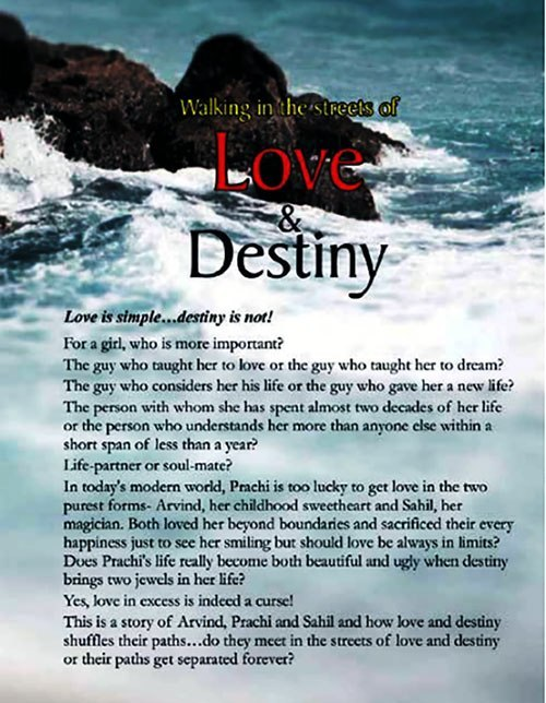 Walking in the streets of love and destiny
